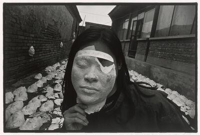 """Rong Rong 荣荣, '1994 No. 70 (Cang Xin, """"Tramping on Faces"""")', 1994"""