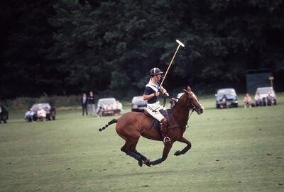 Slim Aarons, 'Polo Prince', 1985