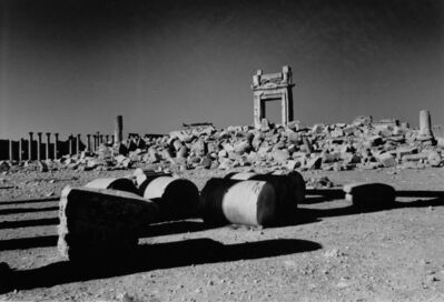 Don McCullin, 'Destruction of the Temple of Bel, Palmyra, Syria', 2017