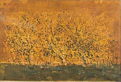 Wayne Thiebaud, 'Orange Landscape', 1958