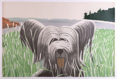 Alex Katz, 'Dog at Ducktrap', 1975-1976