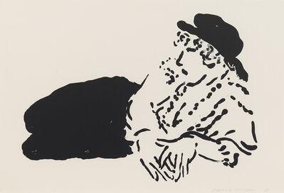 David Hockney, 'Celia (La Bergère)', 1981