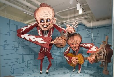 Wayne White, 'The Louvin Brothers', 2014