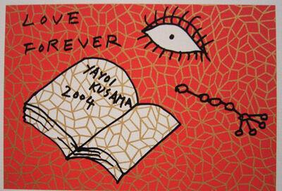Yayoi Kusama, 'Book To Read at Night C - Raisonne no 340', 2004