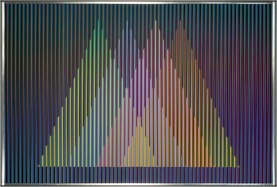 Carlos Cruz-Diez, 'Physichromie Panam 227 ', 2015