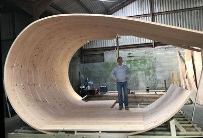 Petter Bjørn Southall, 'The Wave Pavilion', 2019