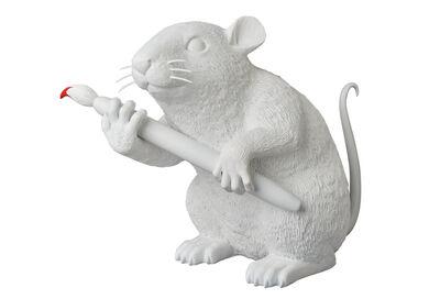 Banksy, 'Love Rat (White)', 2016