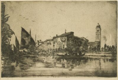 Clifford Isaac Addams, 'Venice, Off San Georgio'