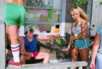 Mitch Epstein, 'Oak Bluffs III, Martha's Vineyard, Massachusetts, Série Recreation', 1983