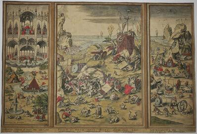 Hieronymus Bosch, 'The last judgement.', 1550-1560