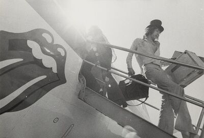 Annie Leibovitz, 'Mick Jagger Disembarking from Plane', circa 1972