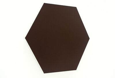 Olivier Mosset, 'Untitled (Bronze Hexagon)', 2010