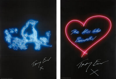Tracey Emin, 'My Favourite Little Bird; and The Kiss was Beautiful', 2015-2016