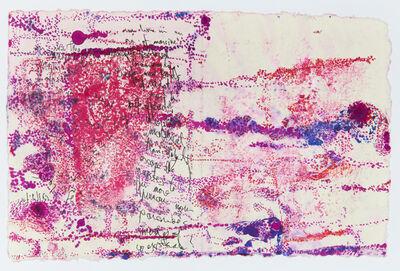 Bracha L. Ettinger, 'Lichtenburg Flower & Medusa', 2013
