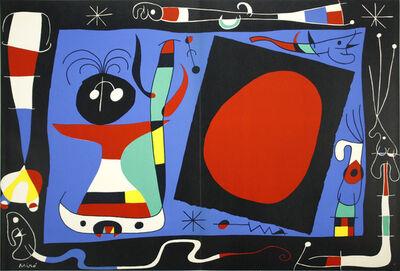 Joan Miró, 'La Femme au Miroir', 1937