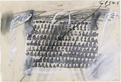 Antoni Tàpies, 'Empreinte de panier', 1968