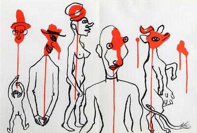 Alexander Calder, 'Les Gueules Degoulinantes from Derrière le Miroir', 1966