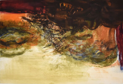 Zao Wou-Ki 趙無極, 'Etching No. 300', 1978