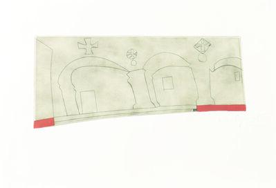 Ben Nicholson, 'long horizontal Patmos', 1962