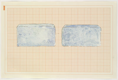 Rachel Whiteread, 'Blue Beds', 1992