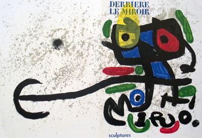 Joan Miró, 'Derriere le Miroir, no. 186', 1970