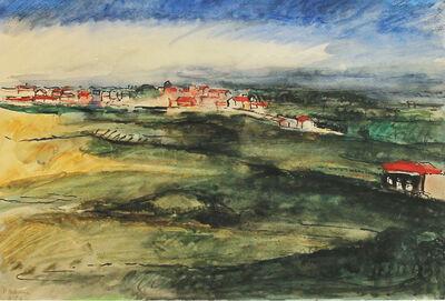 Paul Delvaux, 'Paysage 1924', 1924