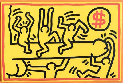 Keith Haring, 'Untitled (Phallus)', 1989