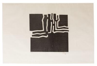 Eduardo Chillida, 'Beltza III', 1969