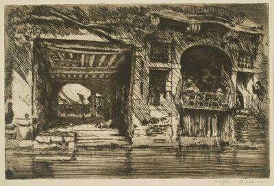 Clifford Isaac Addams, 'Venice, Gondolier Cafe # 3', ca. 1914