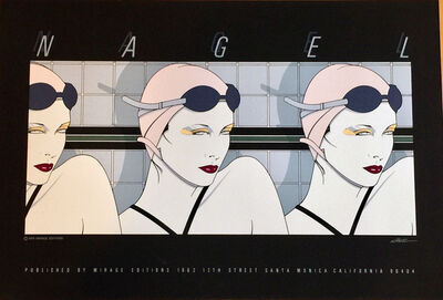 Patrick Nagel, 'Swimmers', 1979