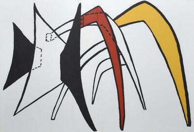 Alexander Calder, 'Derriere le Miroir #141 (Plate 5)', 1963
