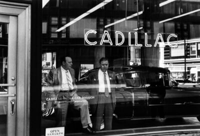 William Klein, 'Cadillac, NY', 1955