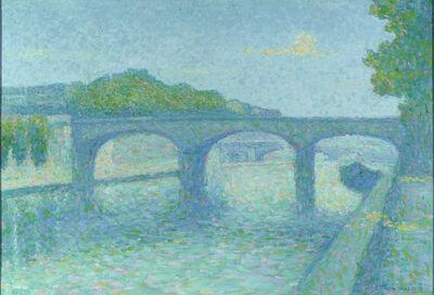 Achille Laugé, 'Pont sur la Seine', 1860-1880