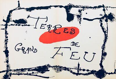 Joan Miró, 'From 'Derrière le Miroir - Joan Miró: Artigas'', 1956