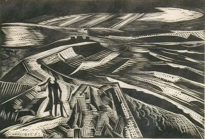 Paul Nash, 'The Bay', 1922
