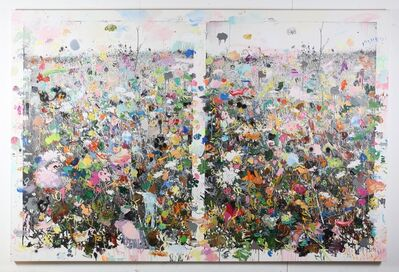 Ida Tursic & Wilfried Mille, 'The double landscape with colors and bees', 2019