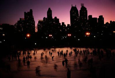 Hervé GLOAGUEN, 'Skatting in Central Park, NY 1966', 1966