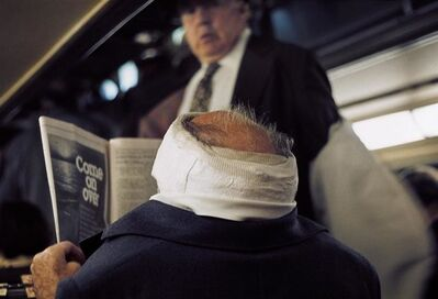 Vivian Maier, '0117626, 1976, Man with Bandaged Head', 2014