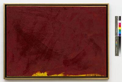Arnulf Rainer, 'Übermalung Rot/Gelb', 1954/55