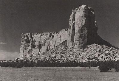 Ansel Adams, 'The Enchanted Mesa [Acoma, New Mexico]', negative and print date: 1930
