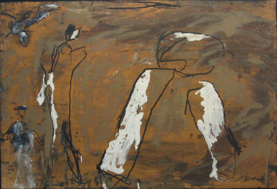 Emil Schumacher, 'Dolobo', 1984