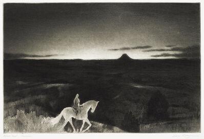 Gene Kloss, 'Sundown; Rabbit Hunters on The Way (Kloss 517; 545), 1967', 1973