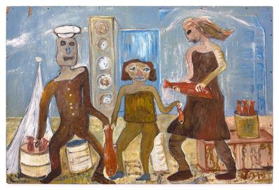 Jon Serl, 'Untitled (fisherman)', ca. 1960