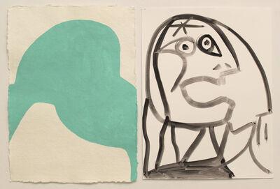 Marina Adams, 'Green Aqua Woman', 2013