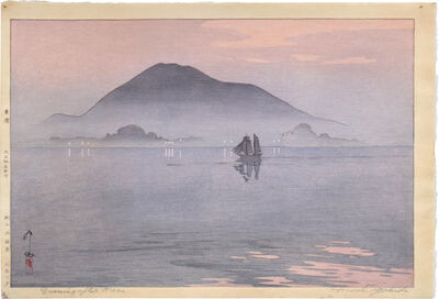 Yoshida Hiroshi, 'The Inland Sea Series: Evening After Rain', 1926