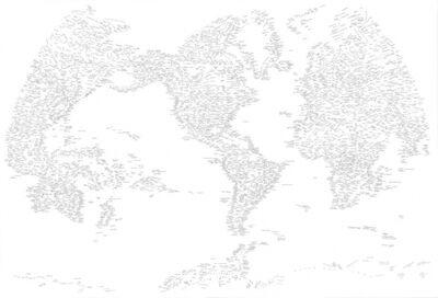 Kim Rugg, 'The World', 2015