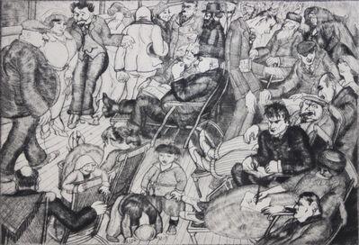 Peggy Bacon, 'The Promenade Deck', 1920