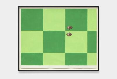 Steven Baldi, 'mixed grid: legibility and color', 2019