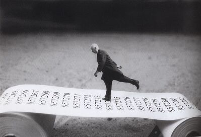 Gilbert Garcin, 'Aller-simple - One way', 2003