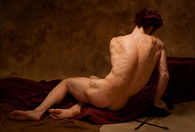 Amy Arbus, 'Manuel / After Patroclus (David's Patroclus, 1780)', 2012